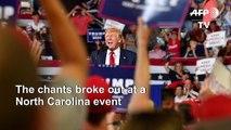 Trump under fire over 'Send her back' taunts