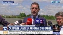 """Réforme du permis: Christophe Castaner décrit """"un objectif simple: avoir un permis plus tôt, plus vite et moins cher"""""""
