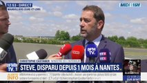 """Disparition de Steve: Christophe Castaner rappelle qu'""""il y a une double-enquête judiciaire sur la disparition et les modalités d'intervention de la police"""""""