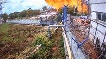 Incendie spectaculaire d'un pipeline en Russie !