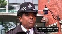 Police appeal for footage of Stevenage crash