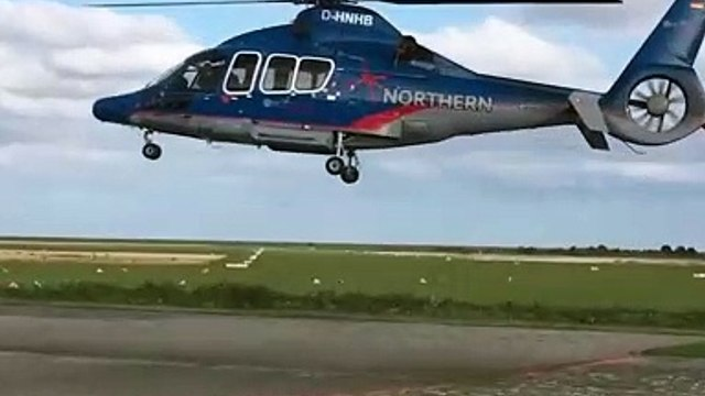 Perfect synchronization between the camera's shutter and the helicopter's propellers