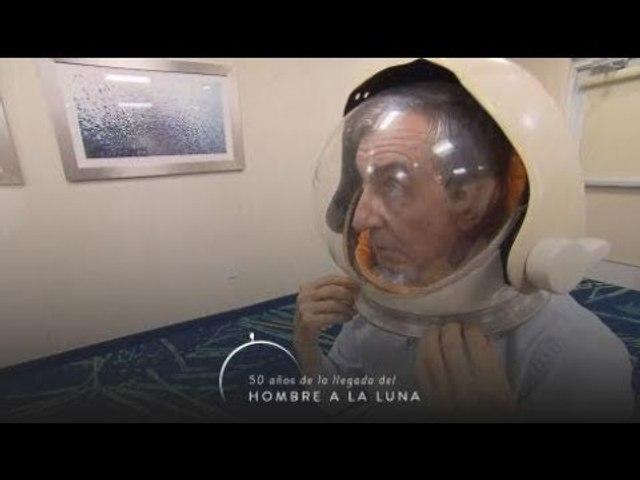 Nelson astronauta: a 50 años de la llegada del hombre a la Luna, el traje espacial