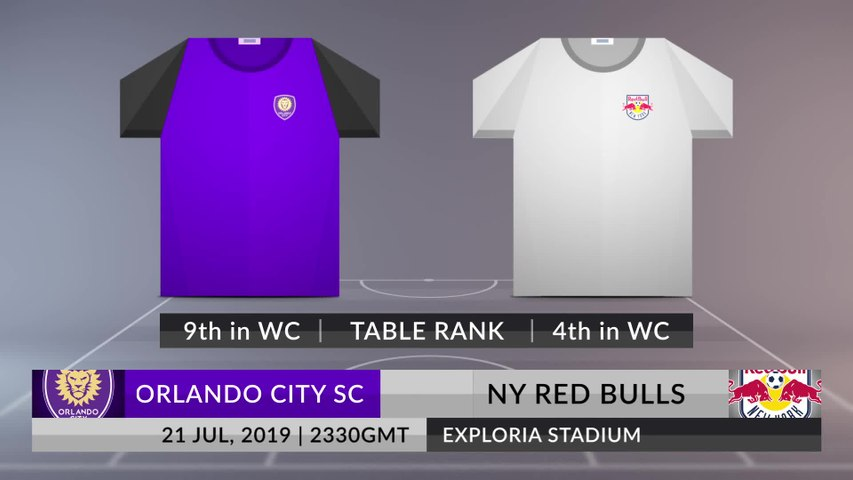 Match Preview: Orlando City SC vs NY Red Bulls on 21/07/2019