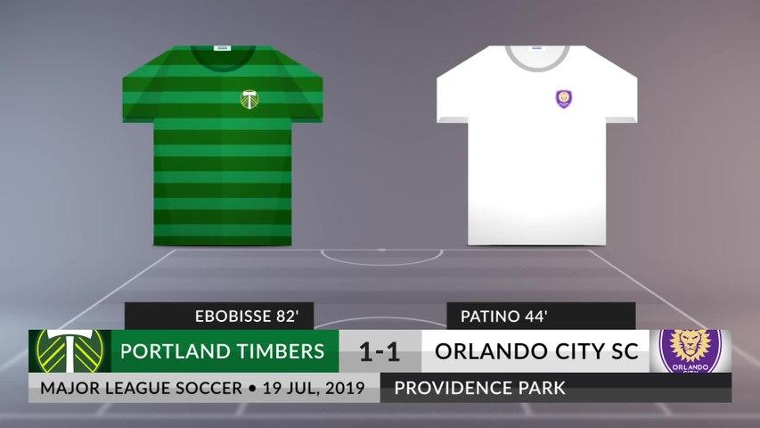 Match Review: Portland Timbers vs Orlando City SC on 19/07/2019