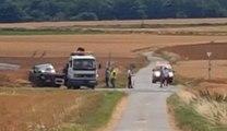 Collision mortelle entre deux véhicules sur la N563 à Estinnes