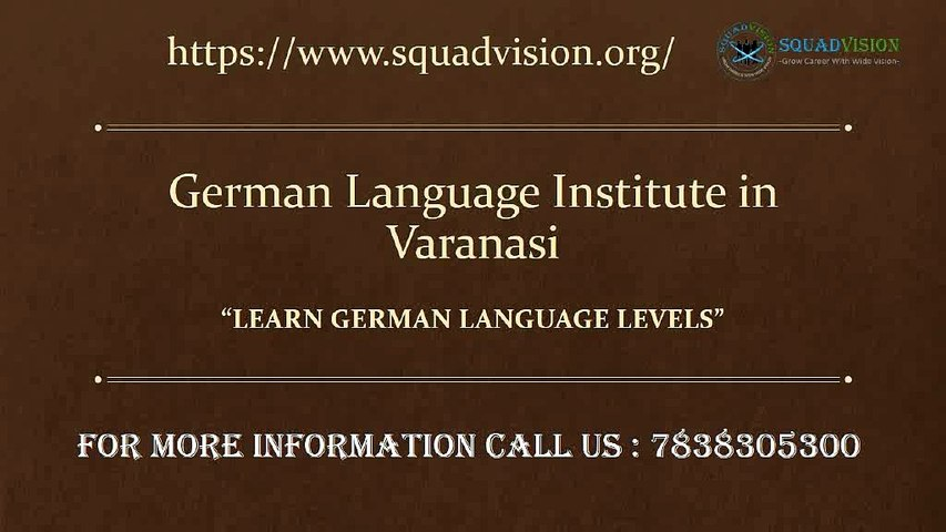 German Language Is The Best For Career.