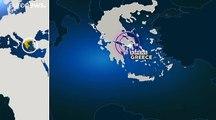 Puissant séisme en Grèce