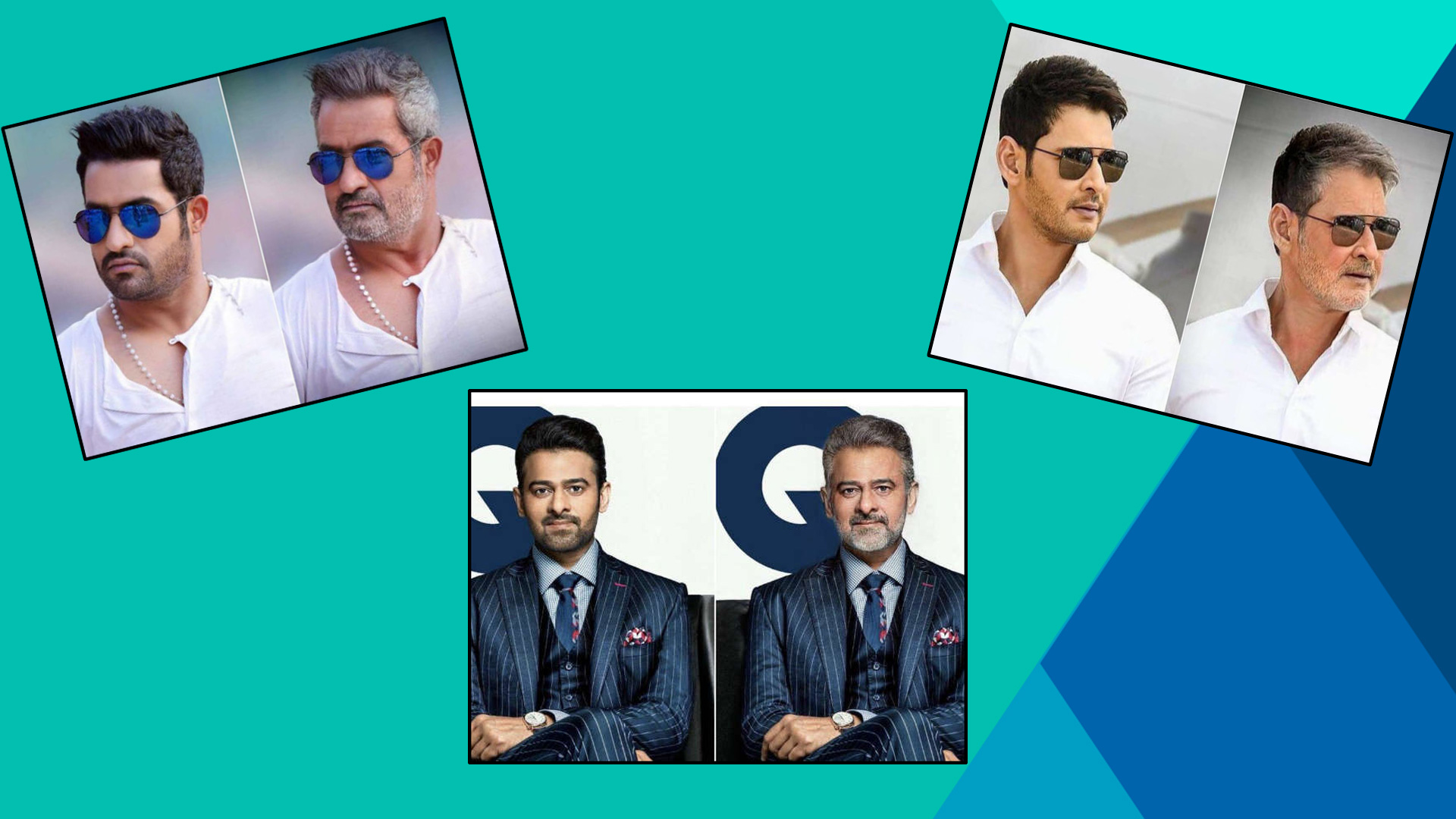 Tollywood & Bollywood Celebrities After FaceApp Effect || Filmibeat Telugu
