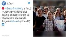 Greta Thunberg a forcé l'Allemagne à faire plus pour le climat, affirme Angela Merkel