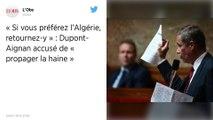 CAN 2019 : Nicolas Dupont-Aignan s'en prend aux auteurs des dégradations après la victoire de l'Algérie en demi-finale