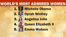 Michelle Obama is the most admired woman in the world, new poll finds