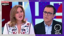 Télématin : Thierry Beccaro très ému après un hommage de sa chroniqueuse (vidéo)
