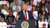 Trump Lashes Out: 'A Tiny Staged Crowd...Greeted Foul Mouthed' Ilhan Omar