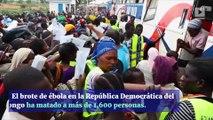 Emergencia de salud pública declarada tras brote de ébola en el Congo