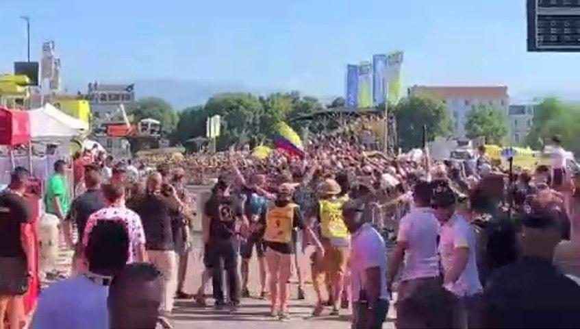 Cycling - Tour de France - Julian Alaphilippe Wins Stage 13, Wout Van Aert Crash