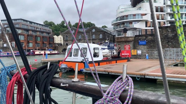 World's SMALLEST Tall Ship sails into Bristol