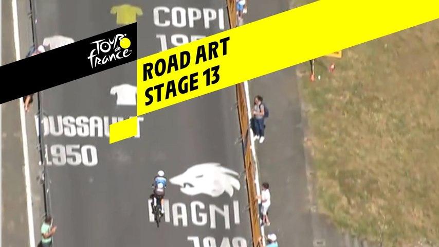 Road Art - Étape 13 / Stage 13 - Tour de France 2019