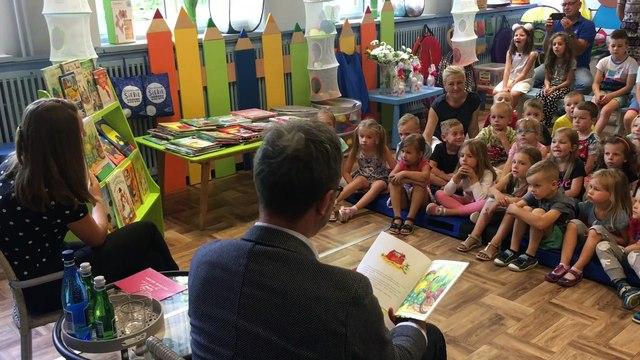 Łódzkie przedszkolaki będą czytać anglojęzyczne bajki