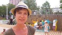 DNA - Une fresque participative sur les Docks d'été à Strasbourg
