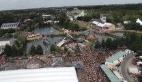 Le festival Tomorrowland vu du ciel
