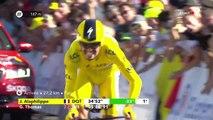 Tour de France 2019 : Julian Alaphilippe remporte l'étape et conforte son maillot jaune