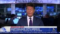 Un séisme de magnitude 5,1 a secoué Athènes et la région de l'Attique en Grèce, entraînant notamment des perturbations sur les lignes téléphoniques