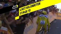 Last kilometer / Flamme rouge - Étape 13 / Stage 13 - Tour de France 2019