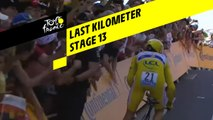 Last kilometer / Flamme rouge - Étape 13 / Stage 13 - Tour de France 2019