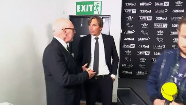 Phillip Cocu conducts first press conference as new Derby County manager