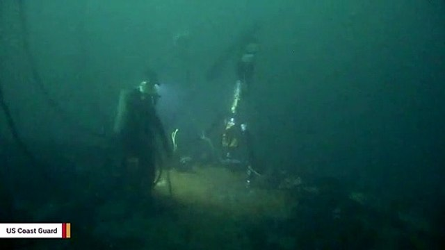 Coast Guard Removes 450,000 Gallons Of Oil From WWII-Era Shipwreck