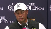 (Subtitled) Tiger Woods 'frustrated' by Open Championship performance
