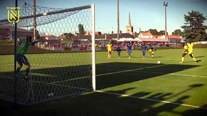 FC  Nantes - Chamois Niortais : le but d'Abdoulaye Touré