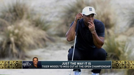 The Jim Rome Show: Tiger Woods misses the cut at The Open Championship