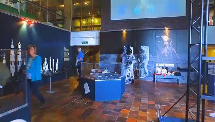MOON LANDING SERIES: Andrew Lound at Local #Apollo50 Exhibition!
