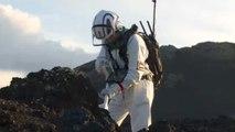 Astronautas treinam para próxima missão na Lua