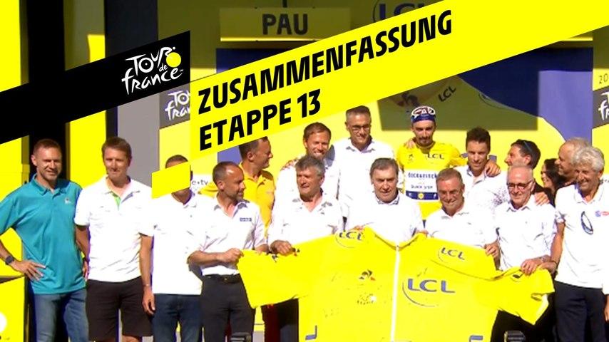 Zusammenfassung - Etappe 13 - Tour de France 2019