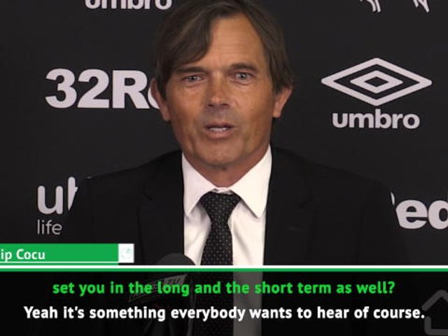 Finishing in the top six is not the only target - Cocu