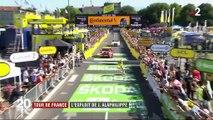 Tour de France : Julian Alaphilippe conforte son maillot jaune en remportant le contre-la-montre de Pau