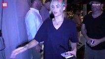 Lala Kent shows off her toned legs  and Randall Emmett stun in all-black outfits in LA