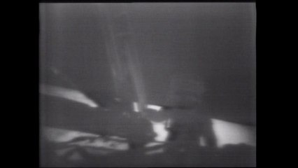 Watch Neil Armstrong's first steps on the moon