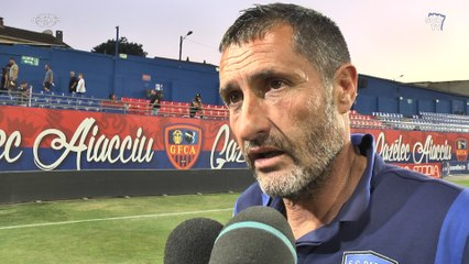 GFCA 1-1 SCB : Réaction de S. Rossi
