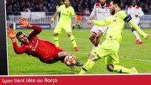 LYON résiste au BARÇA, un lionceau en cadeau pour GOMIS, Atlético-Juventus