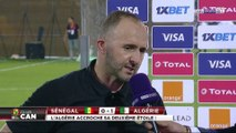 "Djamel Belmadi : ""On est un pays de football, on mérite même si c'était un match difficile"""