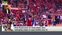 Kevin Durant posts Achilles rehab photos _ Get Up