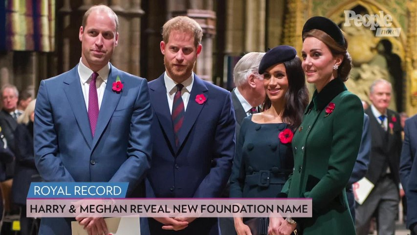Meghan Markle and Prince Harry's New Foundation Name Revealed After Split from William and Kate