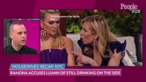 RHONY: Luann de Lesseps Denies Ramona Singer's Allegation That She's 'Drinking on the Side'