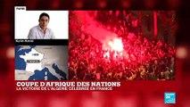 """L'Algérie, championne d'Afrique : """"Dispositif policier impressionnant sur les Champs-Elysées"""""""