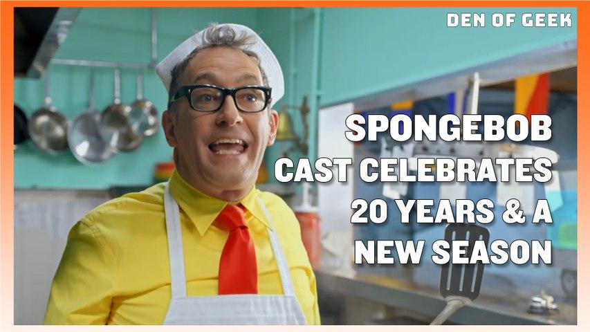 The SpongeBob SquarePants Cast Celebrates 20 Years At SDCC 2019