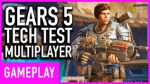 Gears 5 - Arcade Deathmatch Multiplayer Gameplay (Tech Test)